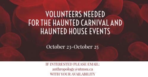 Halloween Volunteer Poster
